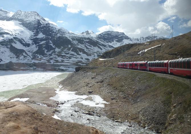 10 viaggi in treno davvero mozzafiato