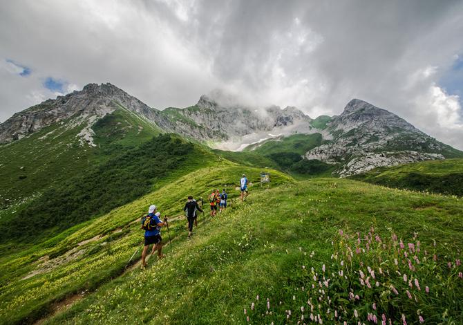 Risultati immagini per running trail orobie