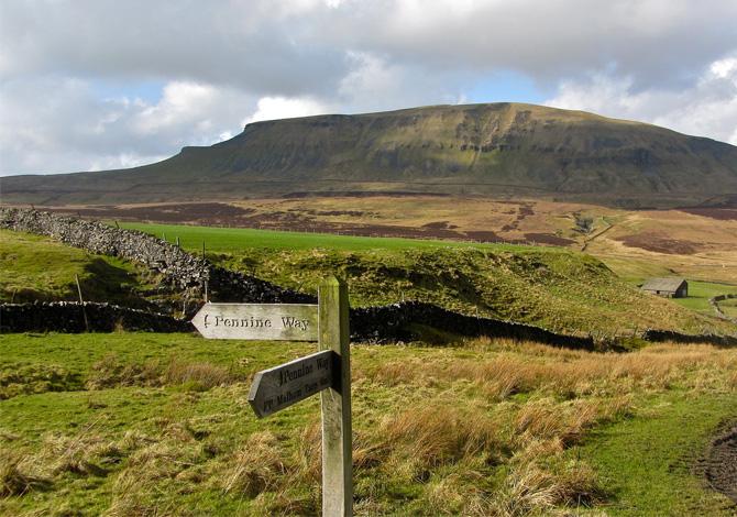 Pennine Way, long trekking in Gran Bretagna