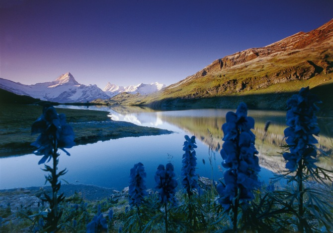 8 bellissimi panorami lungo la Via Alpina