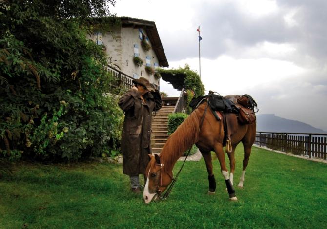 Rifugio San pietro garda rifugi del Trentino poco conosciuti
