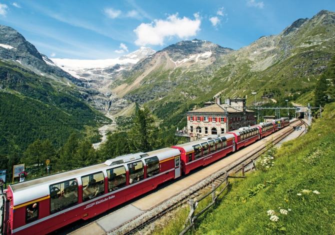 Bernina Express: tutti gli sport da praticare lungo il suo percorso