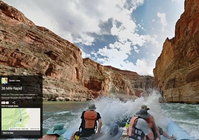 Gli straordinari panorami naturali di Google Street View