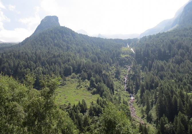 escursioni ispirate da Walter Bonatti Sentiero Walter Bonatti, da Dubino ai Bagni di Masino