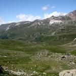 Valle Binn con il rifugio Binntalhutte