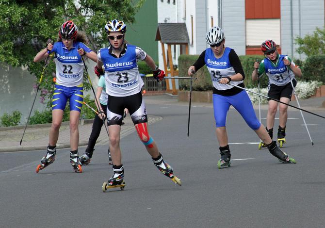 Sci di fondo - allenamento Skiroll