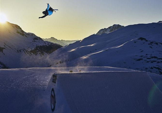 I migliori snowpark d'Italia