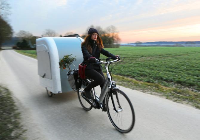 Wide Path Camper, la roulotte che si aggancia alla bici