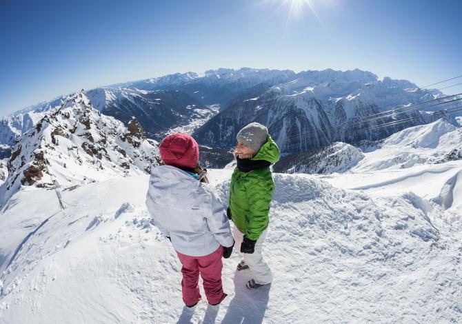 Le 7 piste da sci più panoramiche del Trentino