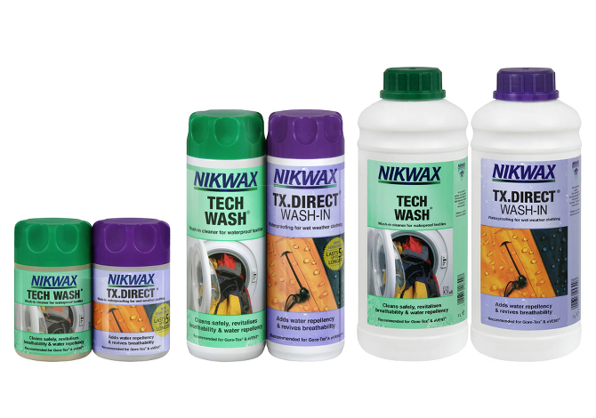 Nikwax Detersivi Abbigliamento Impermeabile