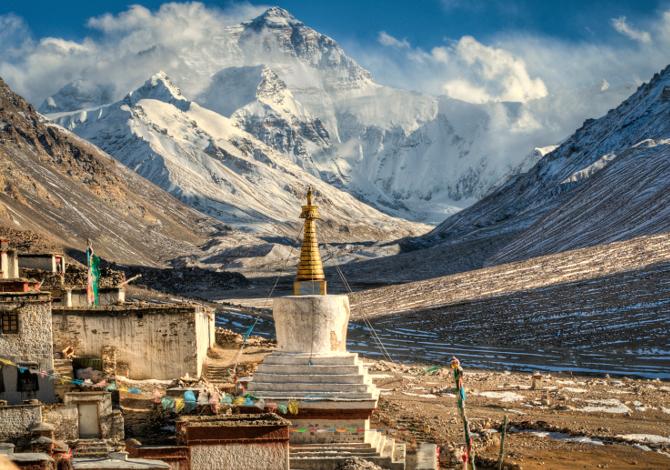 Andare sull Everest