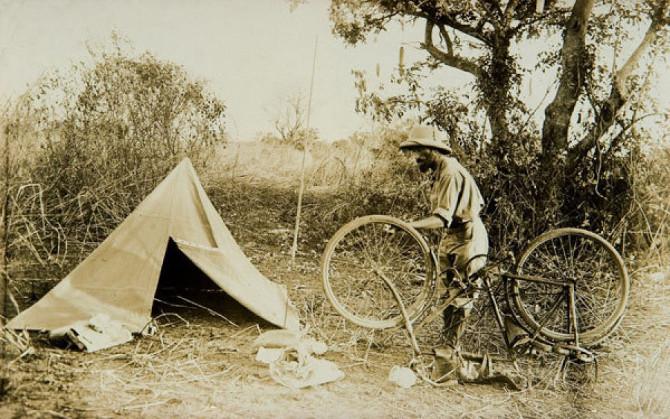 Kazimierz Nowak avventuriero polacco bicicletta africa