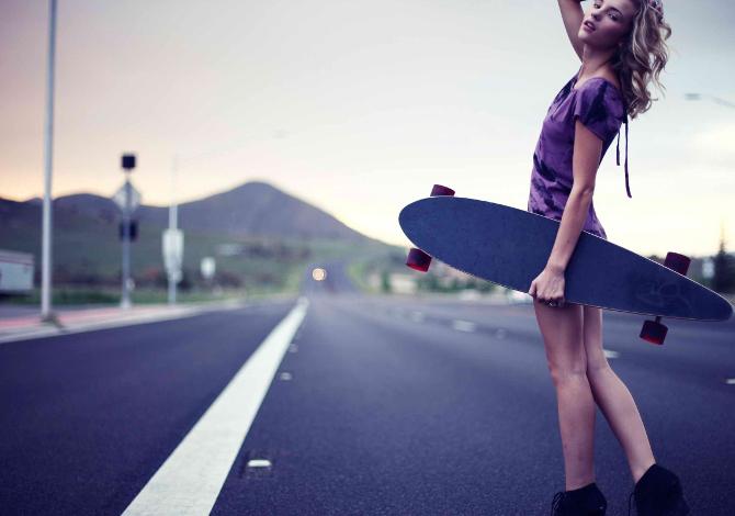 Motivi per andare con lo skateboard