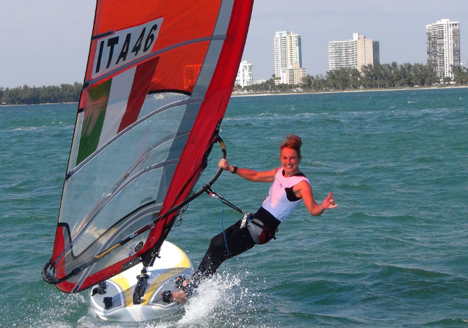 Flavia Tartaglini Road to Rio Windsurf