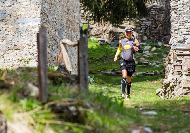 Lara Civelli Trail Running Vibram