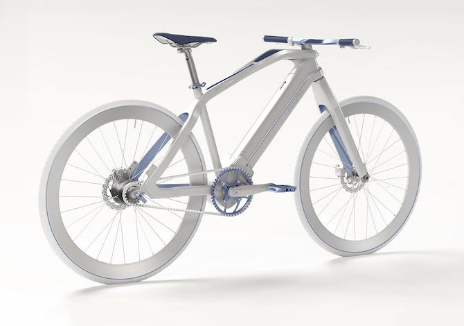 Evoluzione la bici elettrica di pininfarina che guarda al for Bici pininfarina peso