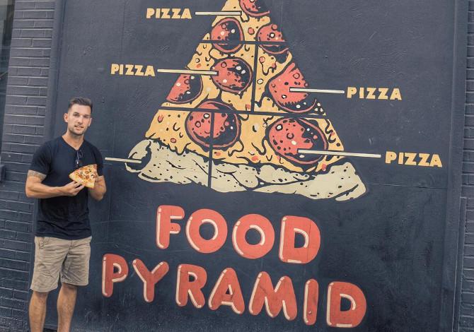 Phil Duncan ricerca miglior pizza