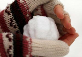 Cosa fare quando si hanno le mani ghiacciate