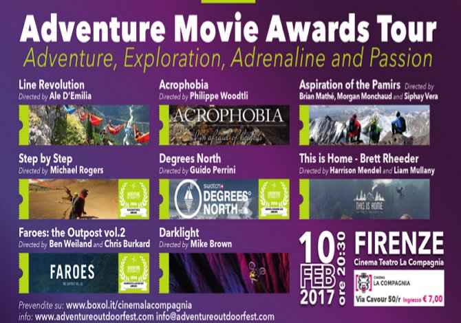 Adventure Movie Award Tour