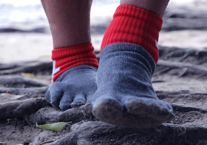 100% originale vasta selezione corrispondenza di colore Barefoot FYF: queste calze super resistenti possono sostituire le ...