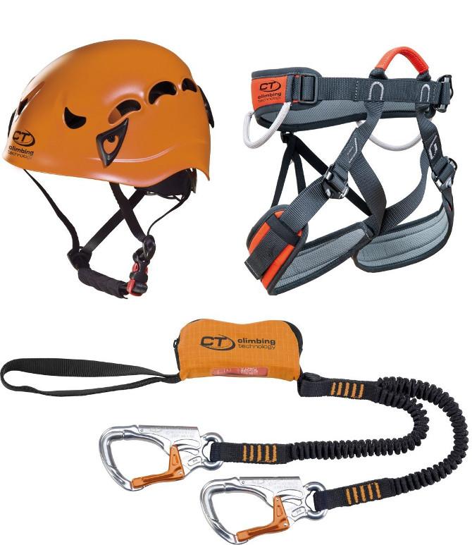 Kit completo via ferrata Climbing technology