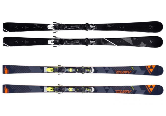 video ski test i nuovi sci fischer rc4 the curv e trinity. Black Bedroom Furniture Sets. Home Design Ideas