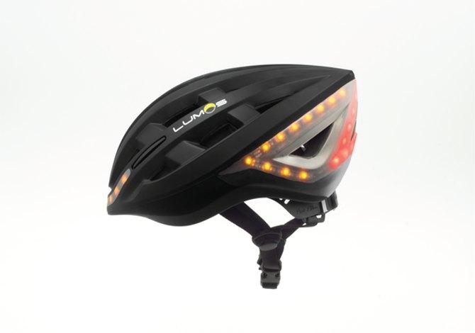 Lumos helmet il casco da bici con le frecce e gli stop for Casco bici citta