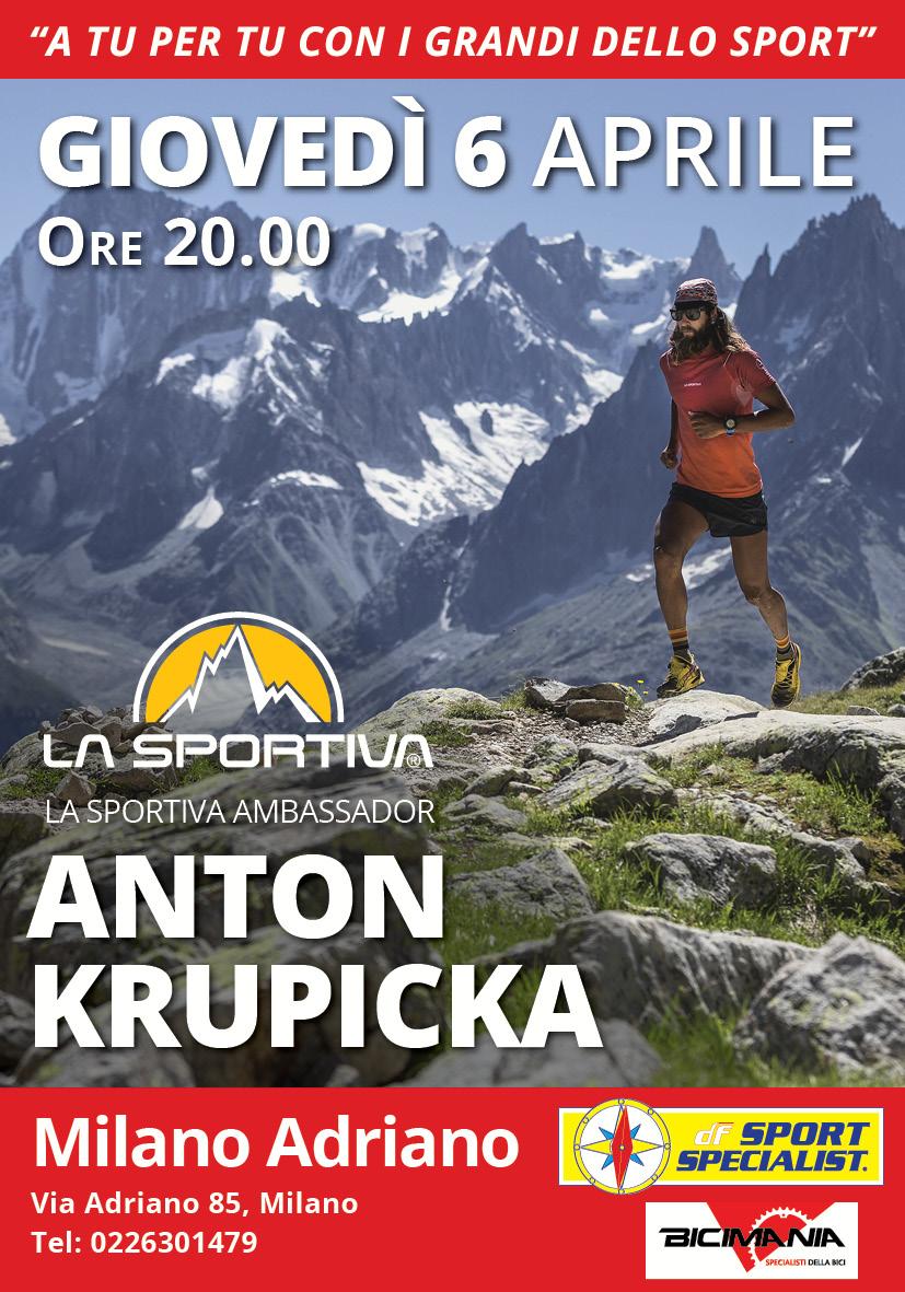 Anton Krupicka DF La Sportiva