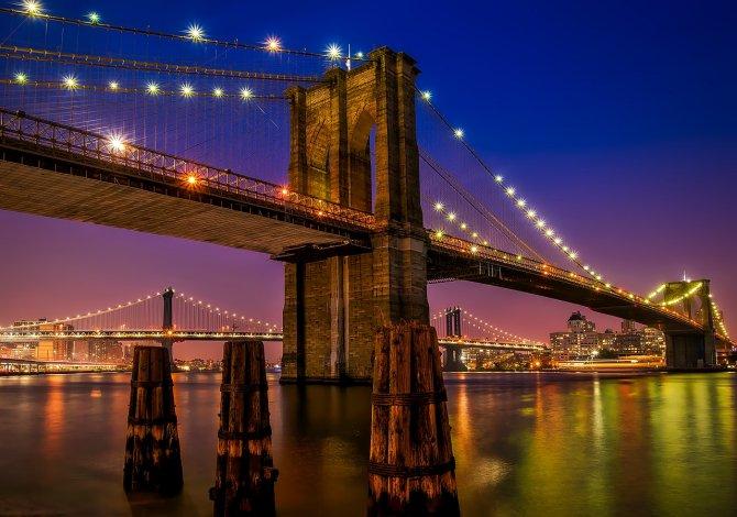 Ponte di Brooklyn (Usa)