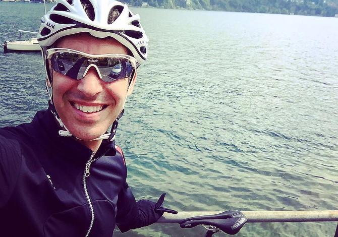 Il bellissimo post di Paolo Kessisoglu sulla bellezza dell'andare in bicicletta