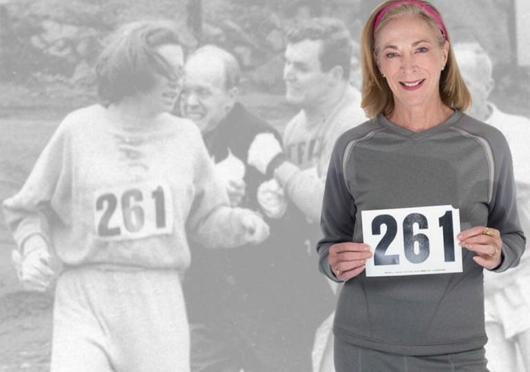 Kathrine Switzer Maratona Boston 2017