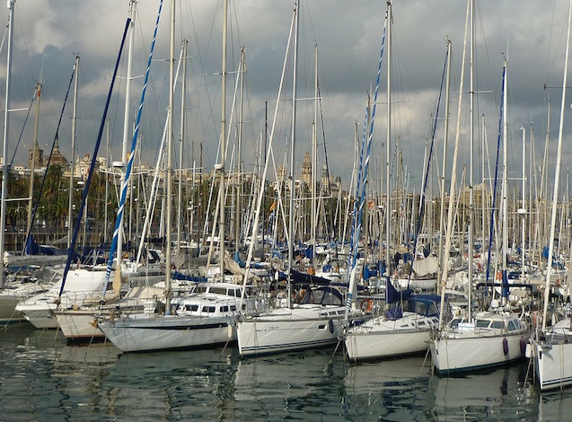 Barcellona, il porto - foto Joeschu Pixabay