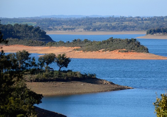 Rota Vicentina, lago di Campilhas. Foto Rota Vicentina