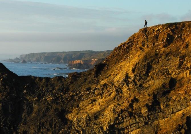 La Rota Vicentina lungo la costa portoghese. Foto Rota Vicentina