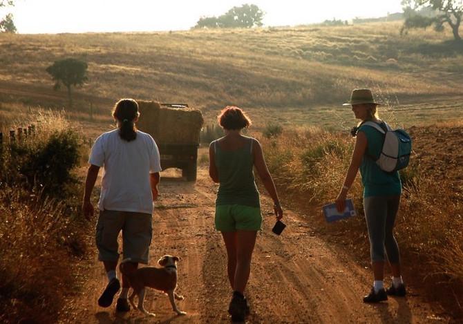 La Rota Vicentina in Portogallo. Foto Rota Vicentina