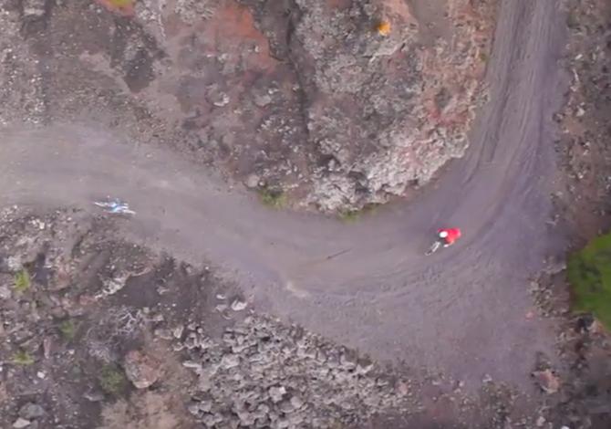 Tenerife mountain bike - foto Ciaocanarie/TYoutube
