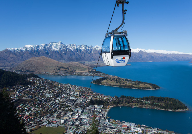 skyline gondola queenstown-bluebird