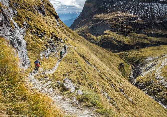In MTB nei Grigioni Svizzera