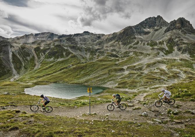Suvretta Pass MTB Svizzera Grigioni