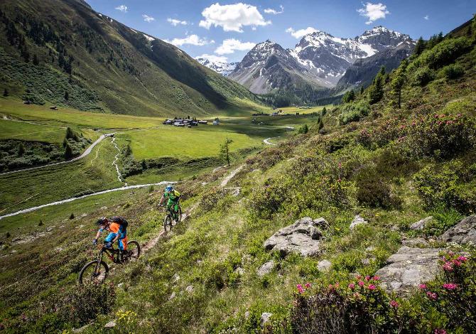Davos MTB Single Trail Griginoi Svizzera