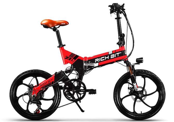 Bicicletta Pieghevole Kawasaki Folding Bike Alluminio.16 Bici Elettriche Pieghevoli Economiche Da Comprare Subito