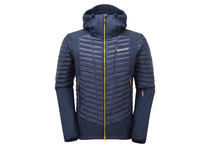 Montane Quattro Fusion Jacket. La Montane Quattro Fusion Jacket è una  giacca tecnica ibrida ... 2625835021f