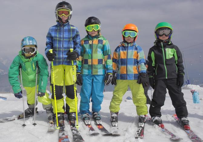 abbigliamento da sci per bambini consigli