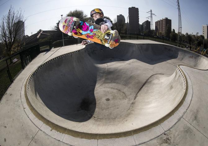 Alessandro Mazzara skateboard