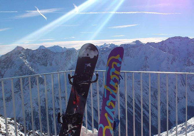 ALTEZZA DELLA TAVOLA DA SNOWBOARD