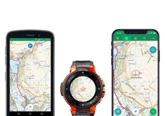 Casio Pro Trek Smart e App ViewRanger