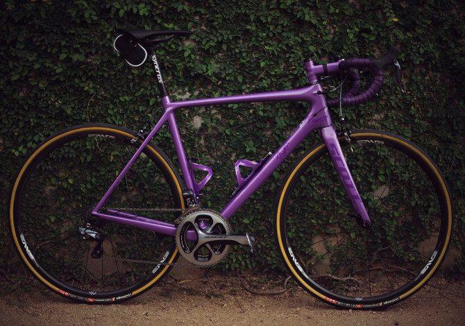 Geometria del telaio della bici da corsa