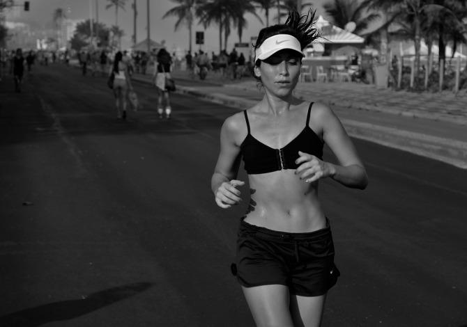 Respirare durante la corsa