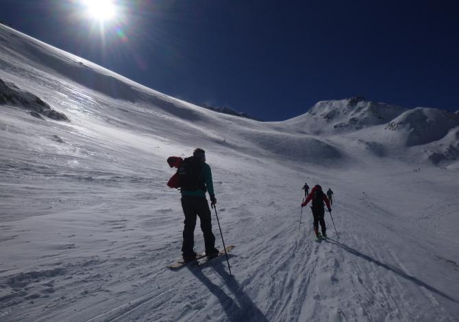 Scialpinismo e ciaspole al Passo San Gran Bernardo_2