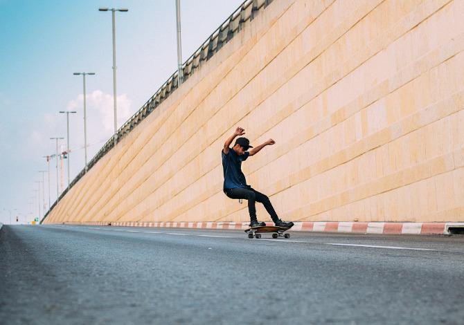 Come frenare con lo Skate